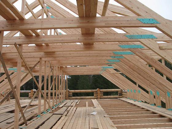 Строительство крыш в Уфе: стропильная система 2020