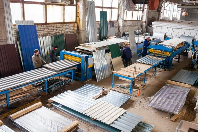 Цены на профнастил и металлочерепицу в Уфе