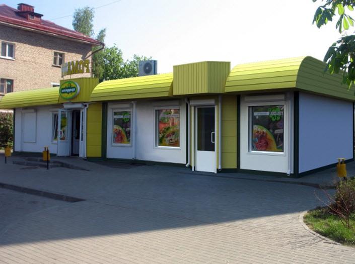 Строительство магазинов из металлоконструкций в Уфе