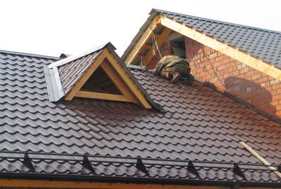 Ремонт и перекрытие крыши