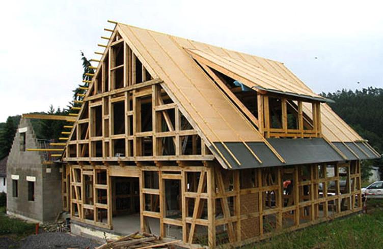 двускатная крыша фото Уфа