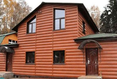 Обшивка домов