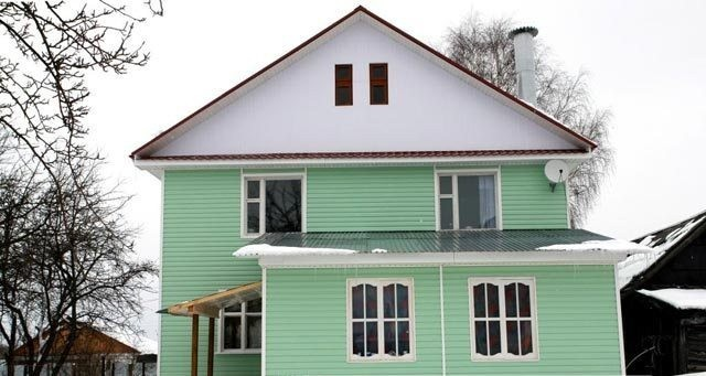 сайдинг для фасада
